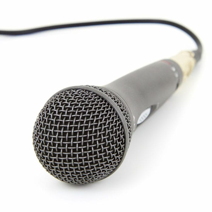 Mic With Wire